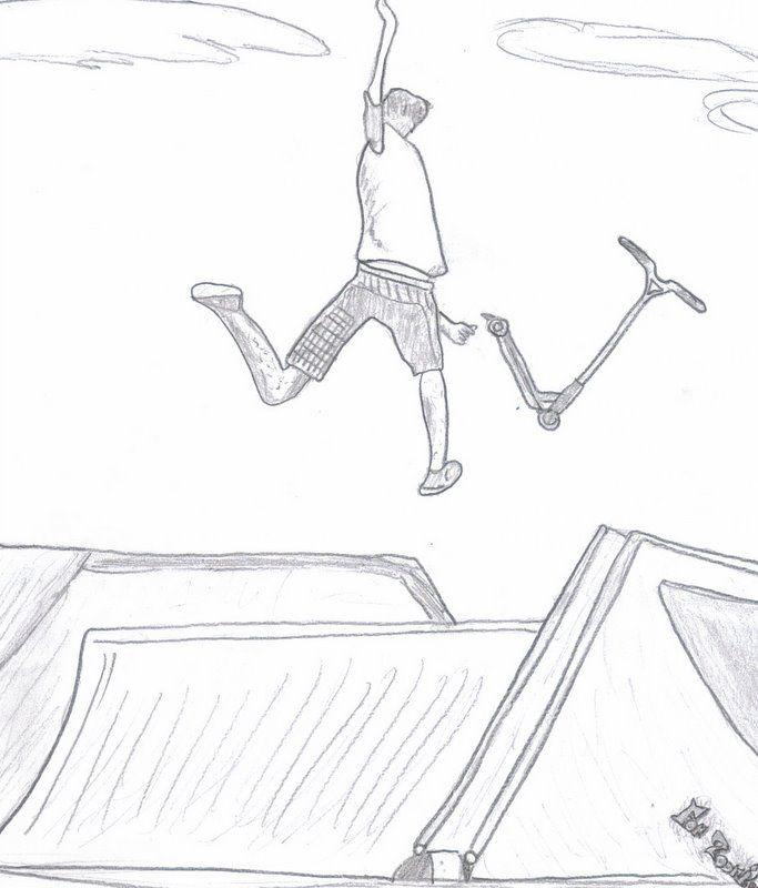 Dessin skateboard colorier les enfants - Dessin skateboard ...